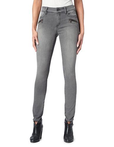 Nydj Alina Zipper Skinny Jeans-GREY-8