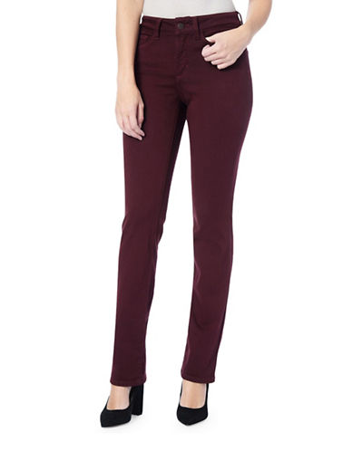 Nydj Marilyn In Luxury Touch Pants-RED-2