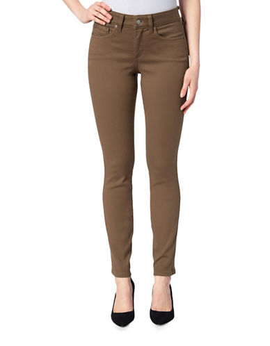 Nydj Ami Skinny Jeans-BROWN-6