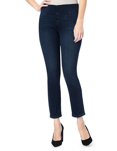 Nydj Alina Pull-On Ankle Leggings-BLUE-0