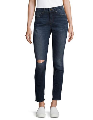 Nydj Alina Knee Slit Jeans-BLUE-4