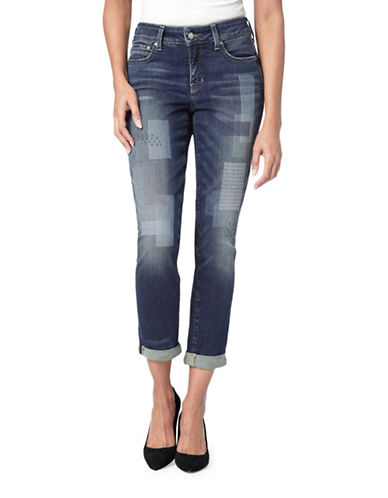 Nydj Boyfriend Patch Jeans-HORIZON-18