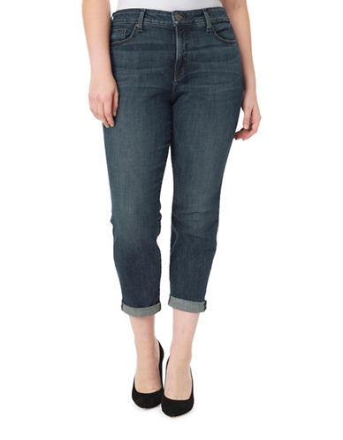 Nydj Plus Plus Plus Classic Boyfriend Jeans-DESERT-16W