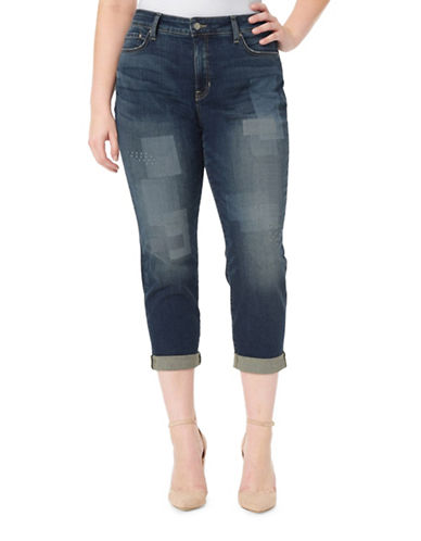 Nydj Plus Plus Boyfriend Ankle Jeans-HORIZON-16W