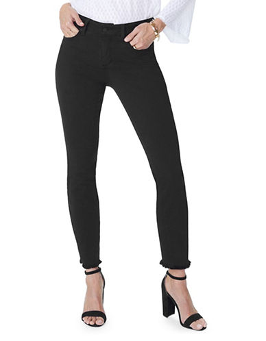 Nydj Sheri Fray Ankle Jeans-BLACK-4