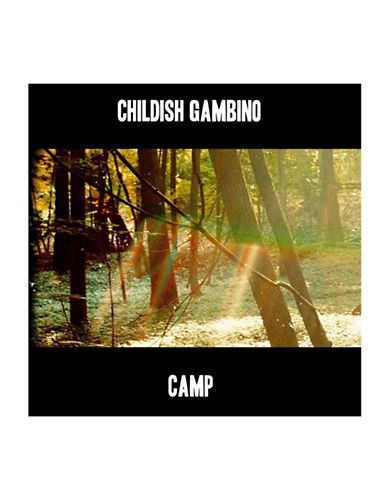 Vinyl Childish Gambino - Camp-BLACK-One Size