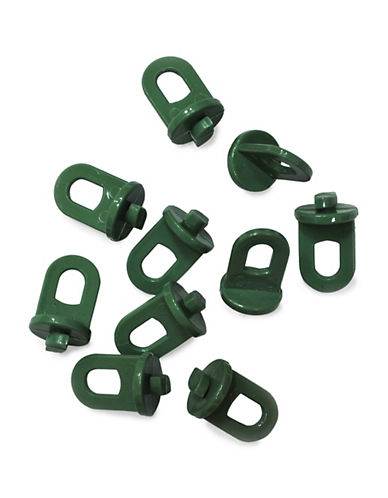 Palram Plant Hooks - Pack of 20-GREEN-One Size