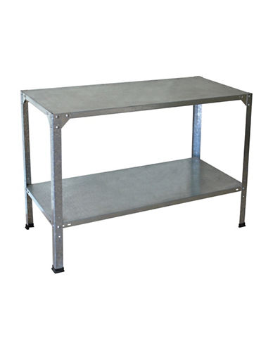 Palram Steel Work Bench-GREY-One Size