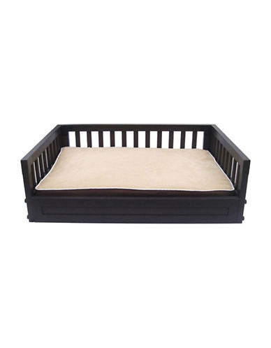 Ecoflex Home Pet Bed with Cushion-BROWN-One Size