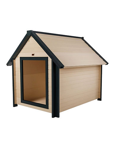 Ecoflex Bunkhouse Style Dog House-PINK-One Size