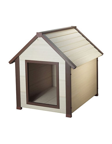 Ecoflex Thermocore Canine Cottage Dog House-GREY-One Size
