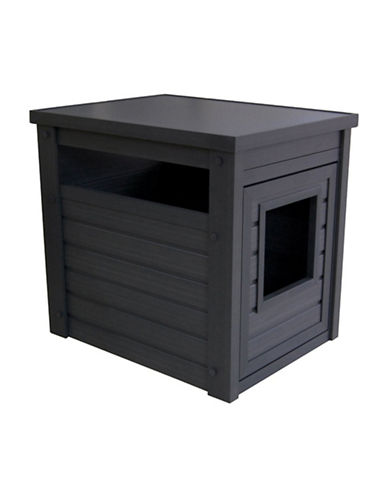Ecoflex Litter Loo End Table-GREY-One Size