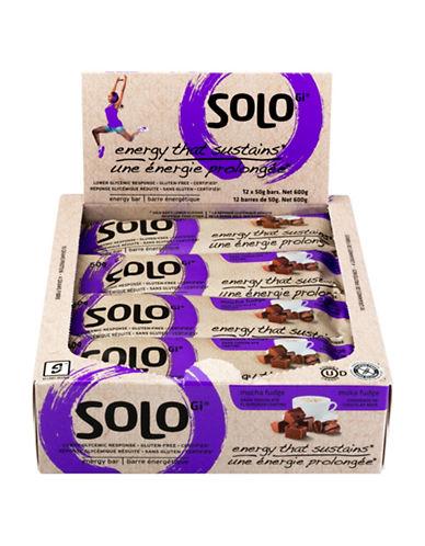 Solo 12 Mocha Fudge Energy Bars-NO COLOUR-One Size