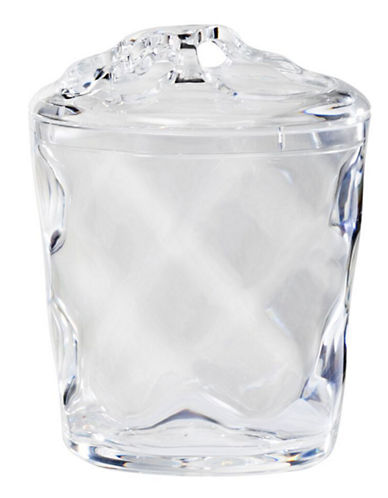 Creative Bath Clear Ripple Toothbrush Holder-CLEAR-One Size