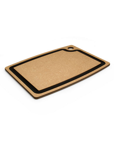 Epicurean Gourmet Series 14.5x11.25 Natural/Slate Cutting Board-WOOD-One Size