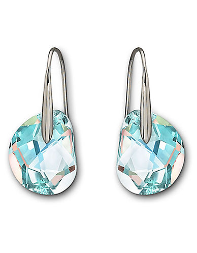 Swarovski Galet Pierced Earrings-BLUE-One Size