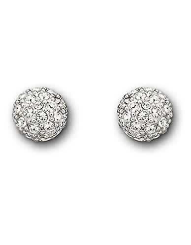 Swarovski Emma Pierced Earring-SILVER-One Size