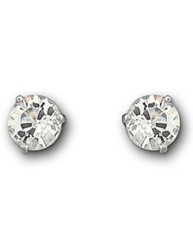 Swarovski Solitaire Earrings-CRYSTAL-One Size