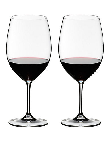 Riedel Vinum Cabernet Sauvignon/Merlot Wine Glasses - Set of 2-CLEAR-One Size