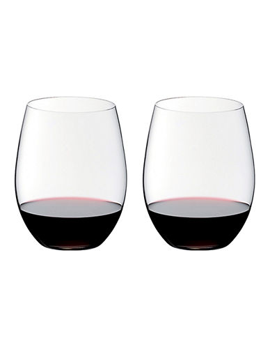 Riedel O Cabernet/Merlot Stemless Wine Glasses - Set of 2-CLEAR-One Size