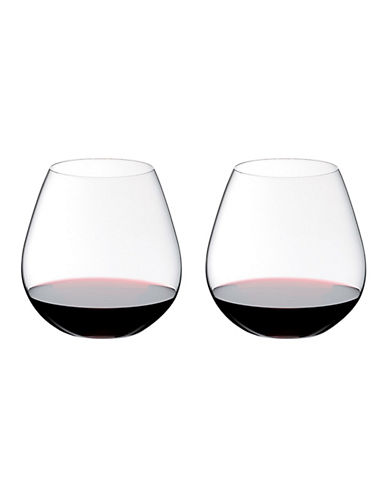 Riedel O Pinot/Nebbliolo Stemless Wine Glasses - Set of 2-CLEAR-One Size