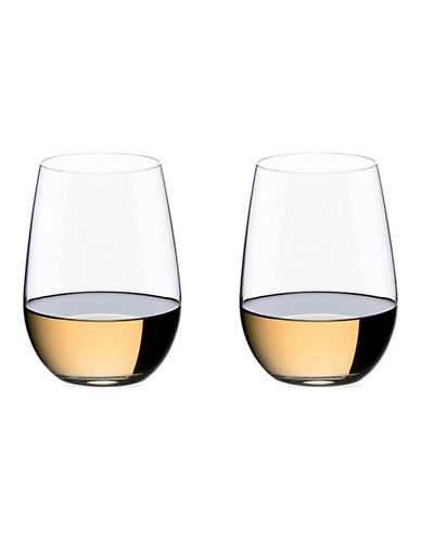 Riedel O Riesling/Sauvignon Blanc Stemless Wine - Set of 2-CLEAR-One Size
