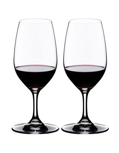 Riedel Vinum Port/Sherry Glass - Set of 2-CLEAR-One Size