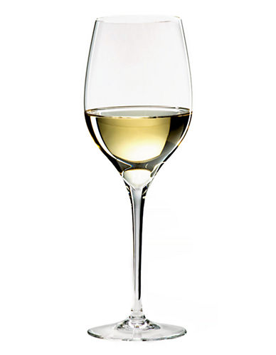 Riedel Grape Viognier Chardonnay Set Of 2 Wine Glasses-CLEAR-One Size