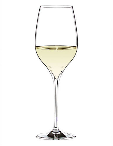 Riedel Grape Riesling   Sauvignon Blanc Set Of 2 Wine Glasses-CLEAR-One Size