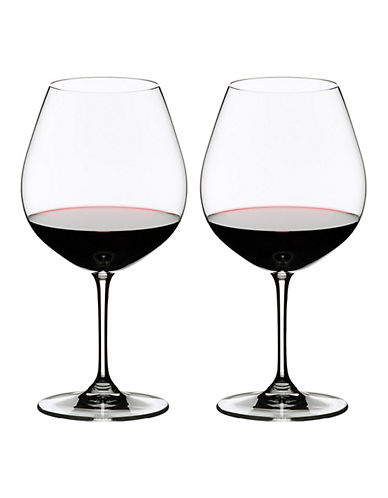 Riedel Vinum Pinot Noir Wine Glasses - Set of 2-CLEAR-One Size