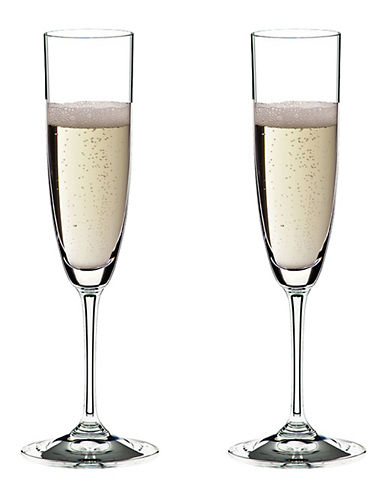 Riedel Vinum Champagne Glass - Set of 2-CLEAR-One Size