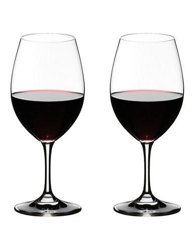 Riedel Two-Pack Red Wine Glasses-CLEAR-One Size