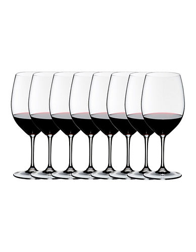 Riedel Vinum Cabernet Sauvignon/Merlot Wine Glasses - Set of 8-CLEAR-One Size
