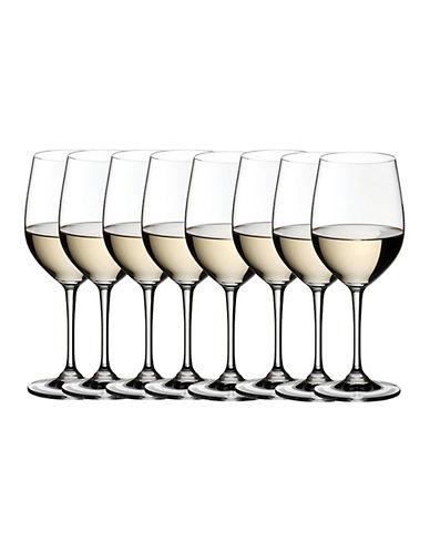 Riedel Vinum Viognier/Chardonnay Wine Glasses - Set of 8-CLEAR-One Size