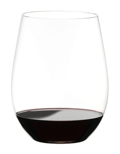 Riedel O Cabernet Merlot Stemless Wine Glasses Set of 2-CLEAR-One Size