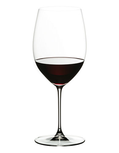 Riedel Veritas Cabernet Merlot Wine Glasses Set of 2-CLEAR-One Size
