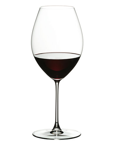 Riedel Veritas Syrah Macabeo Wine Glasses Set of 2-CLEAR-One Size