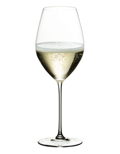 Riedel Veritas Champagne Glasses Set of 2-CLEAR-One Size