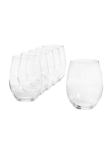 Riedel 260 Years O Wine Tumblers Six-Pack for Cabernet and Merlot-CLEAR-One Size