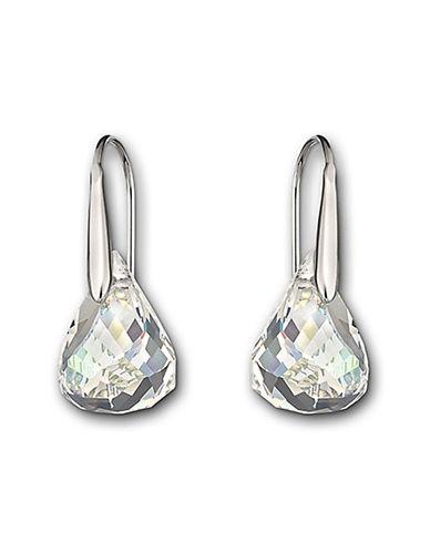 Swarovski Lunar Pierced Earrings-SILVER-One Size