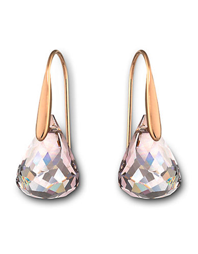 Swarovski Lunar Pierced Earrings-SILVER-One Size