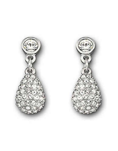Swarovski Heloise Pierced Earrings-SILVER-One Size