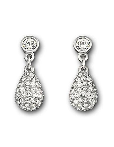 Swarovski Heloise Pierced Earrings-SILVER-One Size