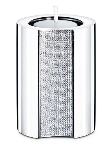 Swarovski Medium Ambiray Tea Light-STAINLESS STEEL-Medium