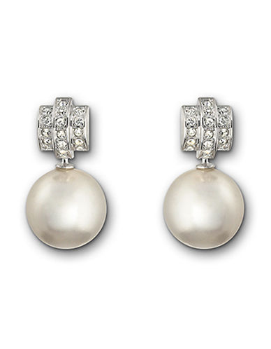 Swarovski Perpetual Pierced Earrings-NO COLOR-One Size