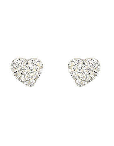 Swarovski Alana Clear Crystal Pierced Earrings-SILVER-One Size