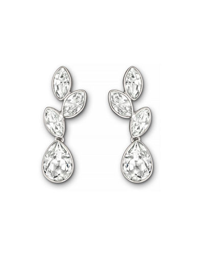 Swarovski Tranquility Drop Earrings-SILVER-One Size