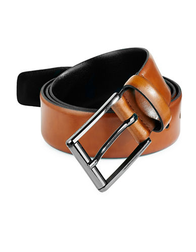 Strellson Leather Belt-GREY-90