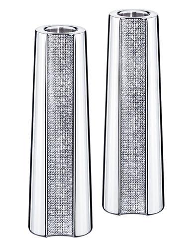 Swarovski Ambiray Candleholders Set of 2-CLEAR-Large