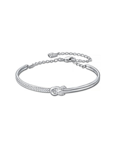 Swarovski Voile Bangle Bracelet-CRYSTAL-One Size